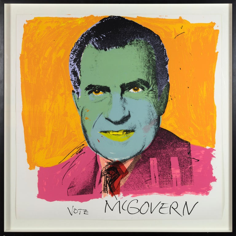 Vote McGovern - Print by Andy Warhol