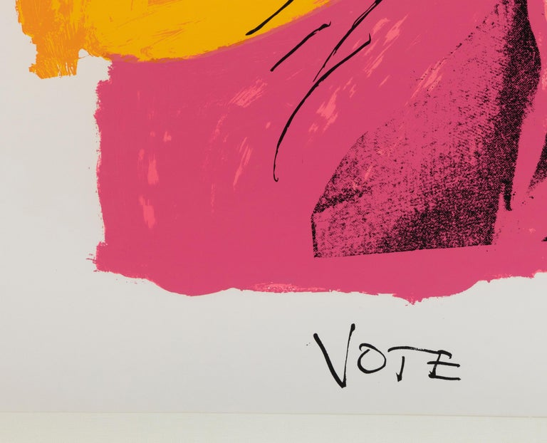 A print by Andy Warhol.