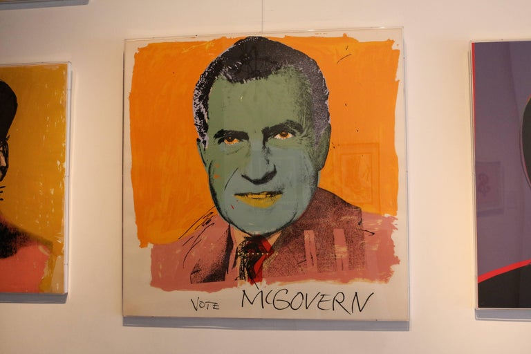 Vote McGovern (FS II.84) - Print by Andy Warhol