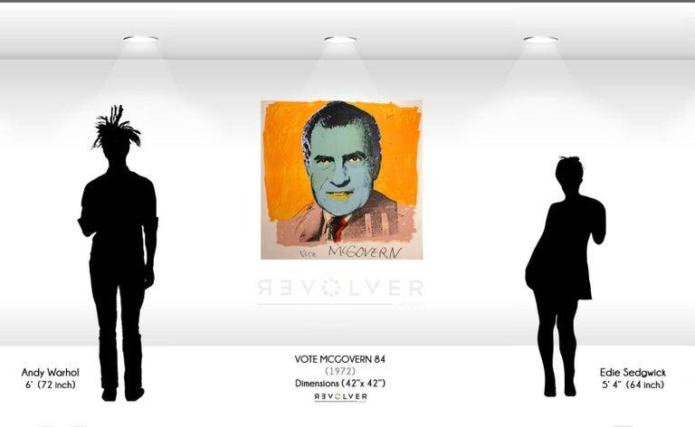 Vote McGovern (FS II.84) - Pop Art Print by Andy Warhol