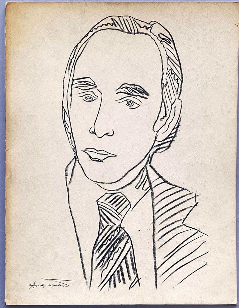 Warhol illustrated Leo Castelli Twenty Years book  - Pop Art Mixed Media Art by Andy Warhol