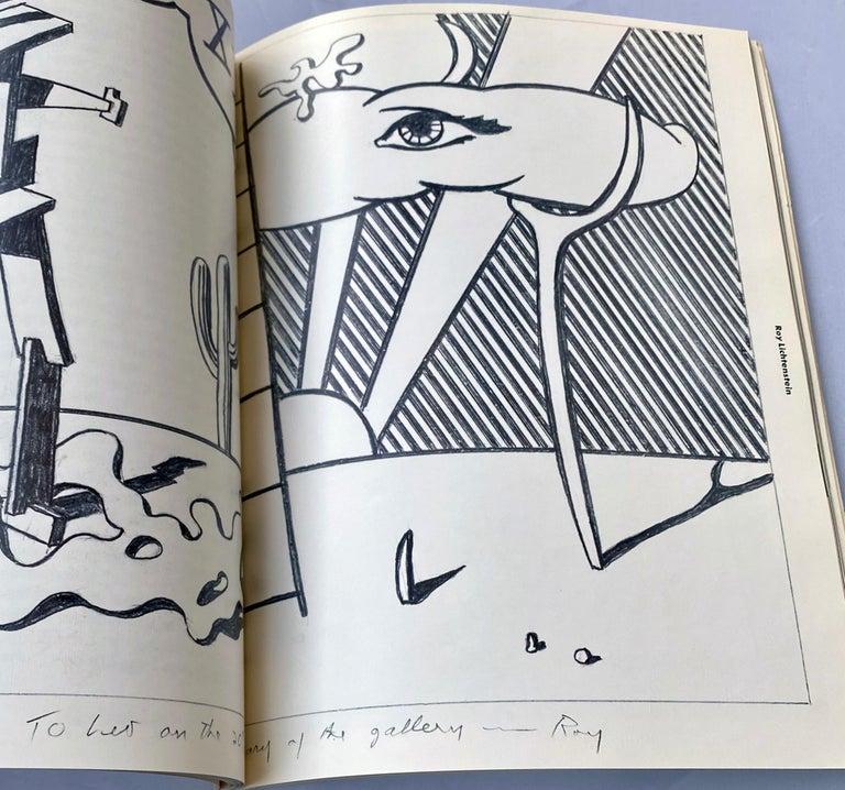 Warhol illustrated Leo Castelli Twenty Years book  For Sale 1