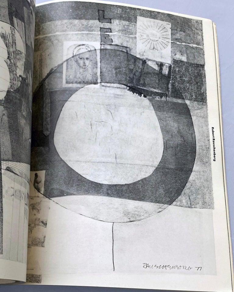 Warhol illustrated Leo Castelli Twenty Years book  For Sale 3