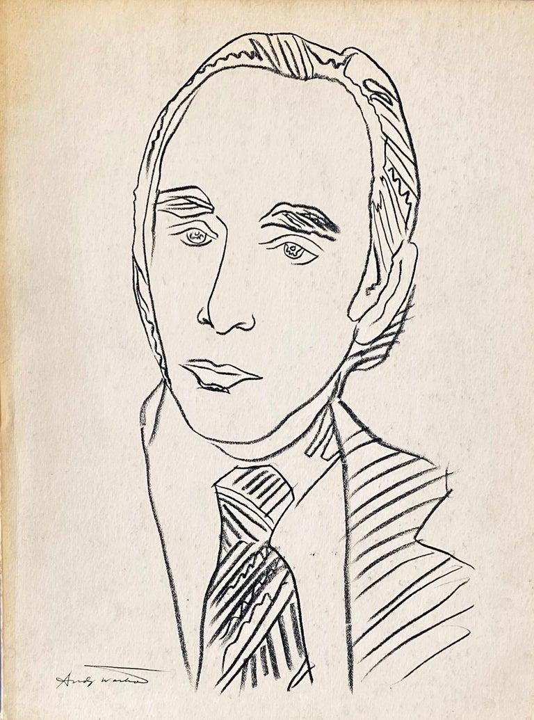 Warhol illustrated Leo Castelli Twenty Years book  - Mixed Media Art by Andy Warhol