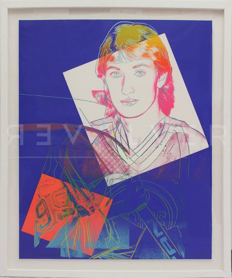 Wayne Gretzky (FS II.306) - Pop Art Print by Andy Warhol
