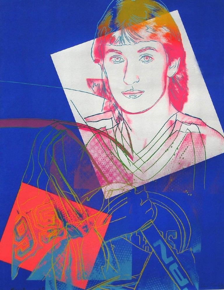 Wayne Gretzky (FS II.306) - Print by Andy Warhol