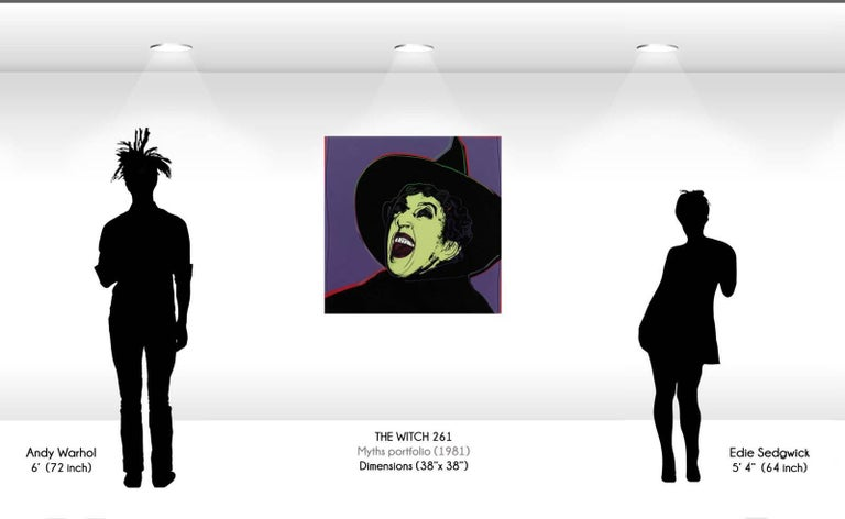 Witch (FS II.261) - Print by Andy Warhol