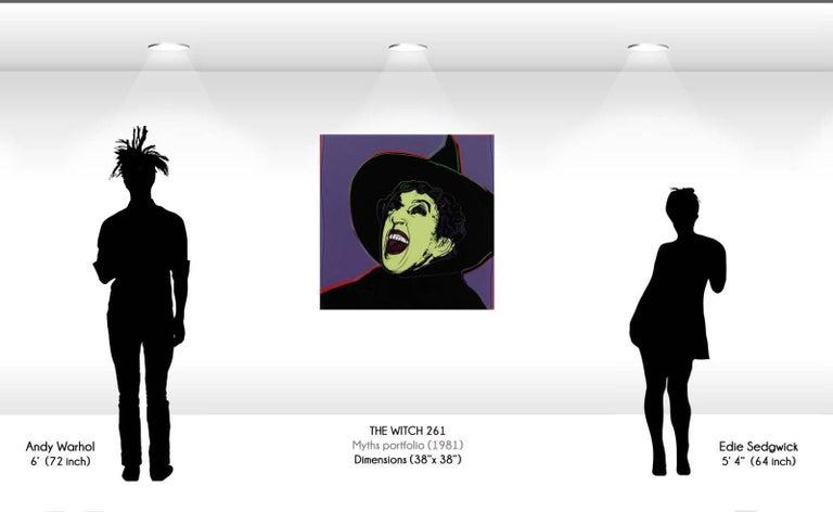 Witch (FS II.261) - Print by Andy Warhol