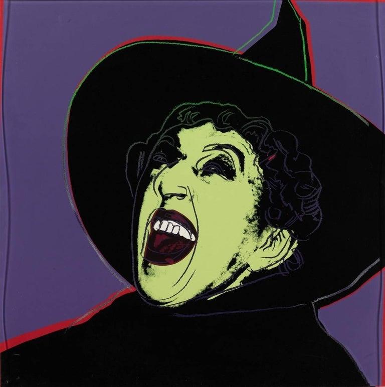 Andy Warhol Portrait Print - Witch (FS II.261)