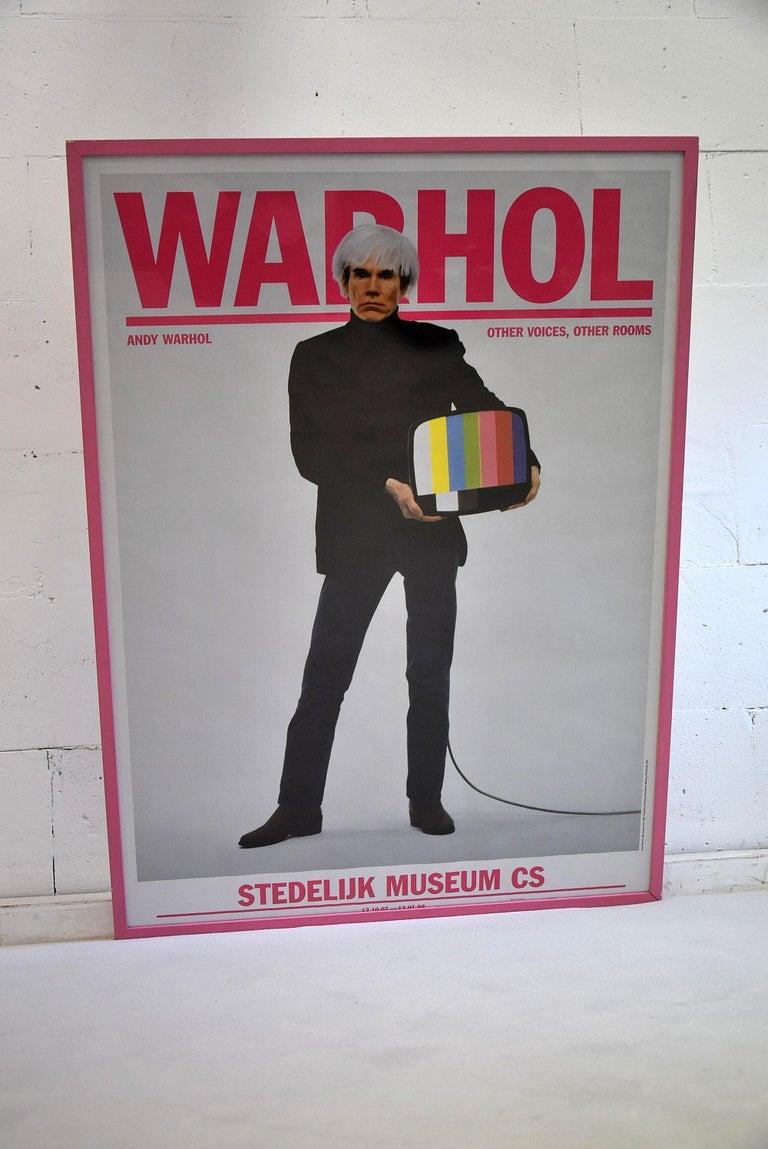 Modern Andy Warhol Stedelijk Museum Amsterdam Poster, 2007 For Sale