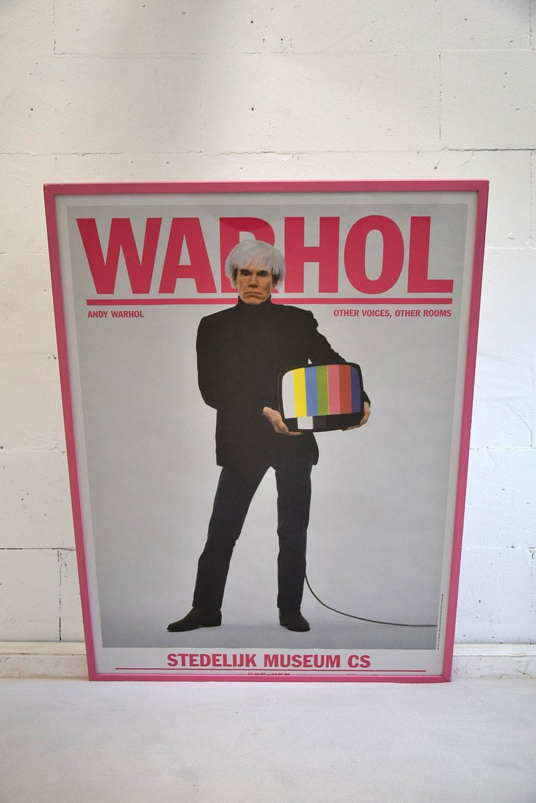 Andy Warhol Stedelijk Museum Amsterdam Poster, 2007 In Good Condition For Sale In Weesp, NL