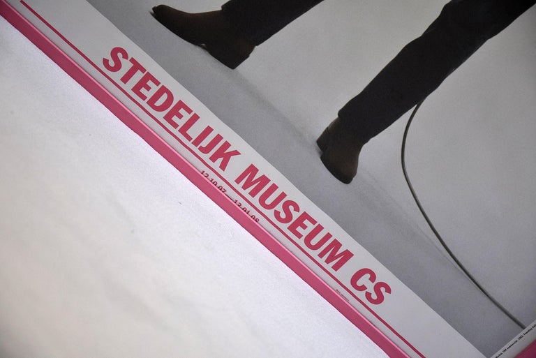 Contemporary Andy Warhol Stedelijk Museum Amsterdam Poster, 2007 For Sale
