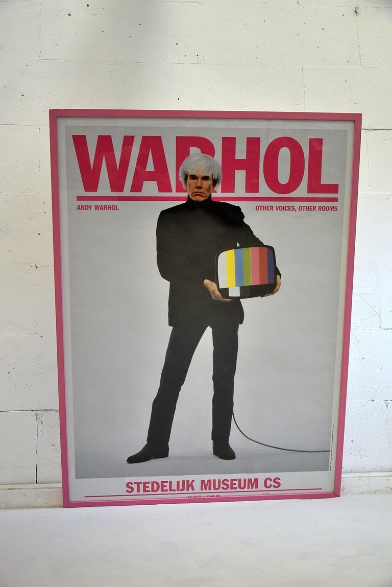 Paper Andy Warhol Stedelijk Museum Amsterdam Poster, 2007 For Sale