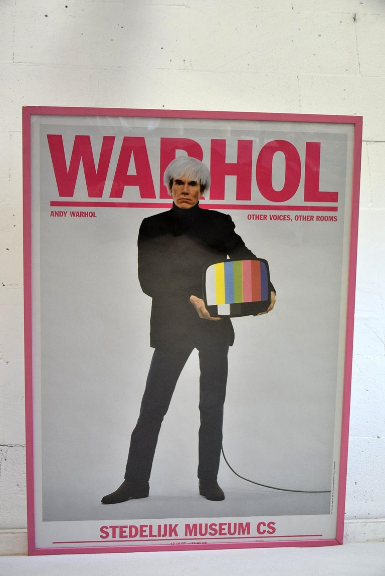 Andy Warhol Stedelijk Museum Amsterdam Poster, 2007 For Sale 2
