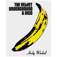 Andy Warhol 'The Velvet Underground & Nico' Rare Original 1967 Maxi Poster Print