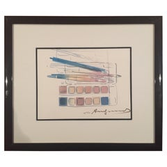 "Andy Warhol ""Watercolor Paint Kit with Brushes"""