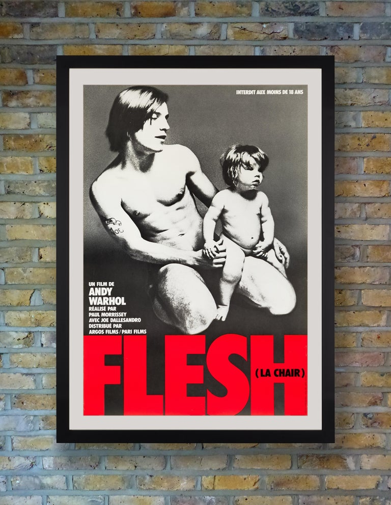 Conceived by Andy Warhol and young filmmaker Paul Morrissey while Warhol was recovering from gunshot wounds, 'Flesh' was the first of Warhol's experimental and avant-garde films to become a commercial success. Directed by Morrissey and starring Joe
