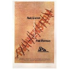 Andy Warhol's Frankenstein 3D 1974 U.S. One Sheet Film Poster