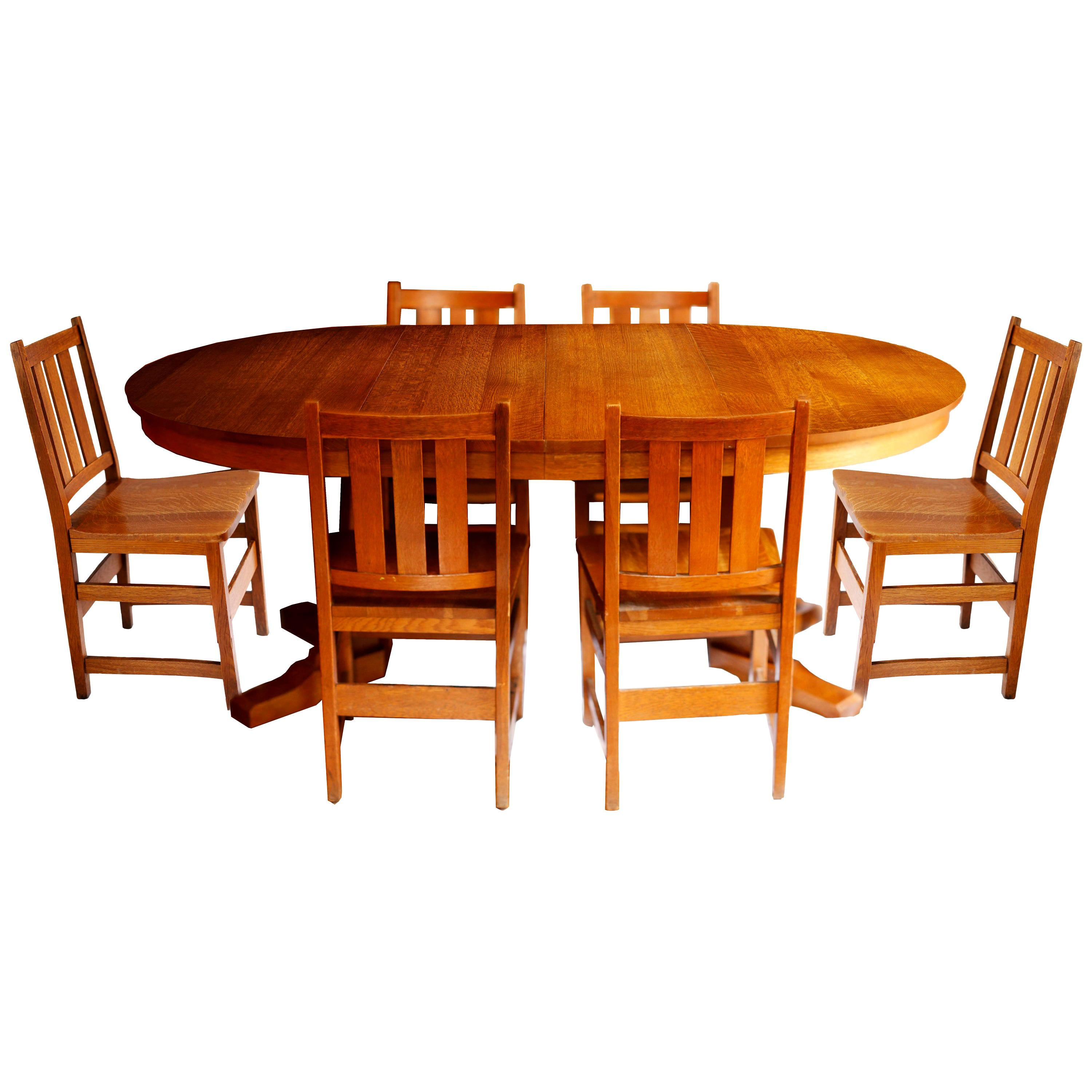 Stickley Dining Chairs, Used Stickley Dining Room Furniture