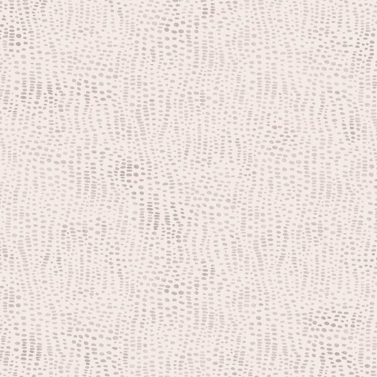 Anemone Designer Wallpaper in Opaline 'Multi-Color Pinkish-Grey and Peach' For Sale
