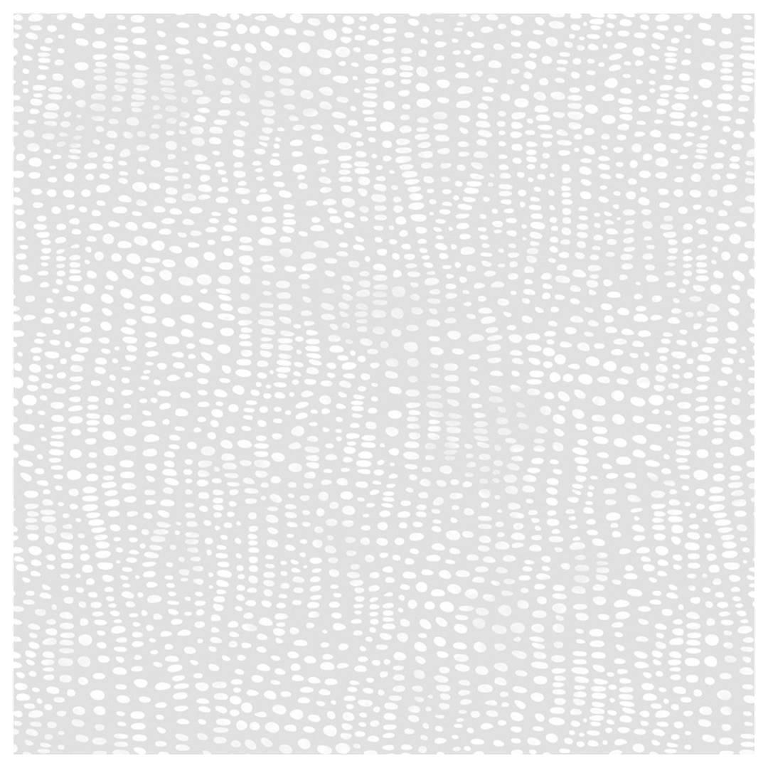 Anemone Designer Wallpaper in Winter 'White and Soft Grey'