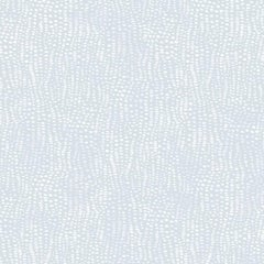 Anemone Designer Wallpaper in Zephyr 'White and Pale Blue'