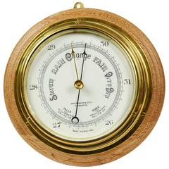Aneroid Barometer Made by John Barker & Co in the Early 1900