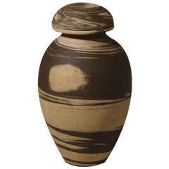 Anfora Faience Sculpture Vase