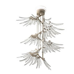 Angel 7249 Suspension Lamp in Glass, by AI Design from Barovier&Toso