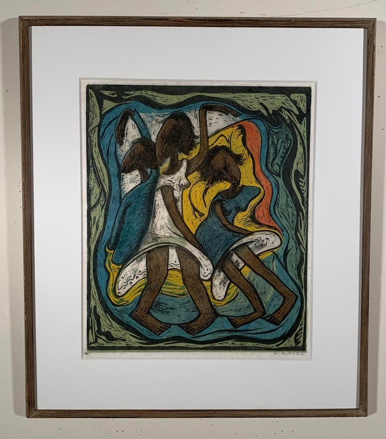 THE DANCE - Print by Angel Botello