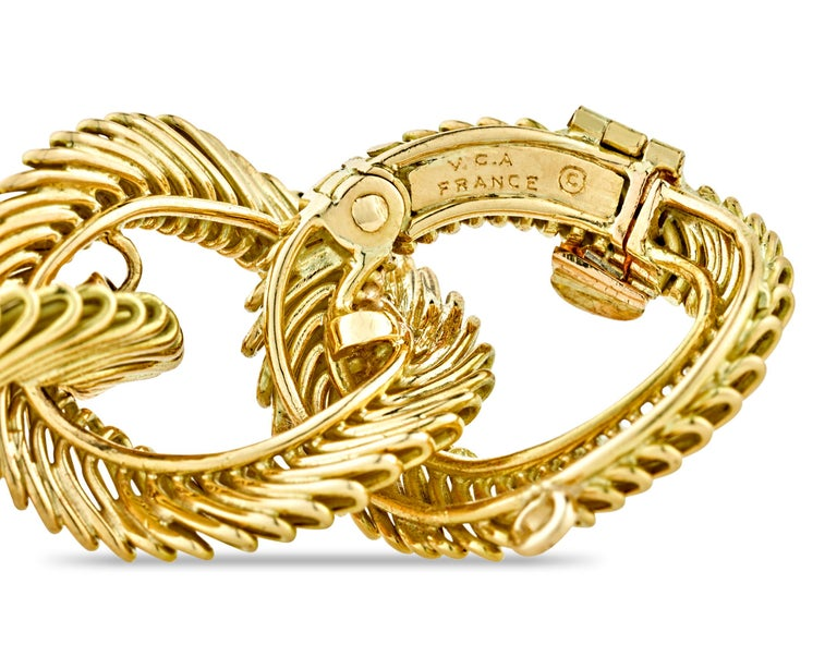 Angel Hair Gold Link Bracelet by Van Cleef & Arpels In Excellent Condition For Sale In New Orleans, LA