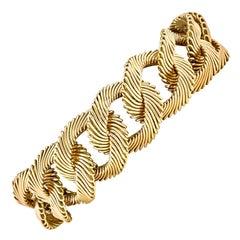 Angel Hair Gold Link Bracelet by Van Cleef & Arpels