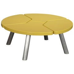Angela Adams Mod Pod Coffee Table in Chartreuse