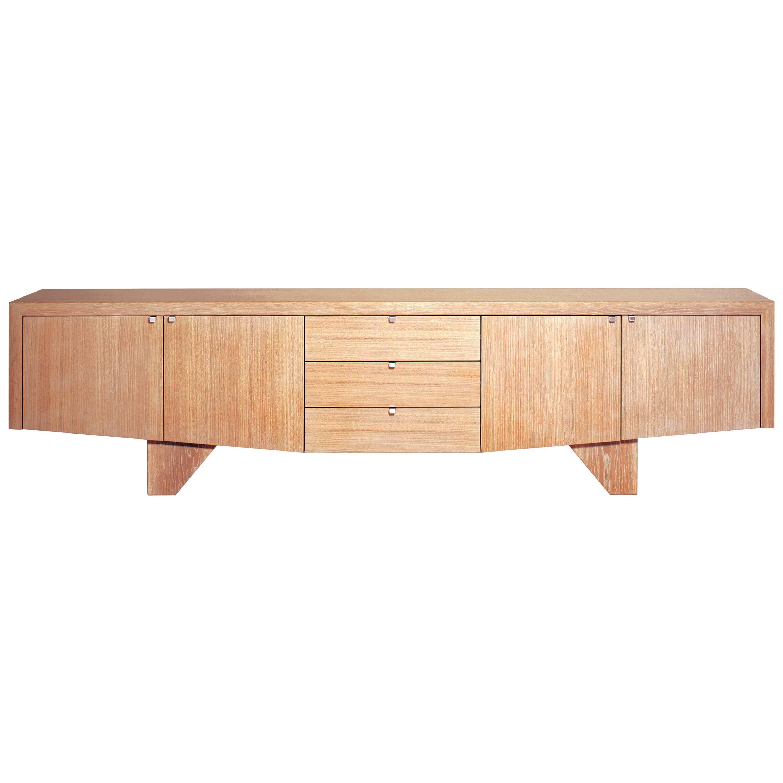 Angela Adams Sea Chest Sidecase, White Oak, Handcrafted, Modern