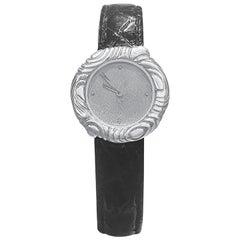 """""""Angela Cummings"""" Ballon-Style 925 Sterling Silver Women's Wristwatch"""
