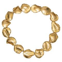 Angela Cummings for Tiffany 18k Rose Petal Necklace