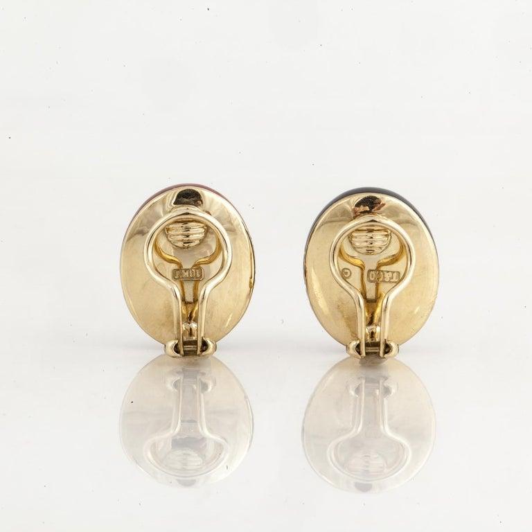 Women's Angela Cummings for Tiffany & Co. Yellow Gold Earrings For Sale