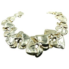 Angela Cummings Iconic 1984 Orchid Necklace in Sterling Silver, Bergdorf Goodman
