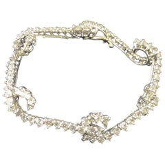 Angela Cummings Platinum and Diamond Bracelet
