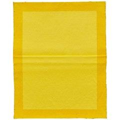 Ángela de la Cruz Pinch Yellow Contemporary Artwork, 2015