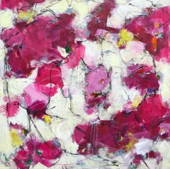 Promising A Rose Garden, Painting, Acrylic on Canvas