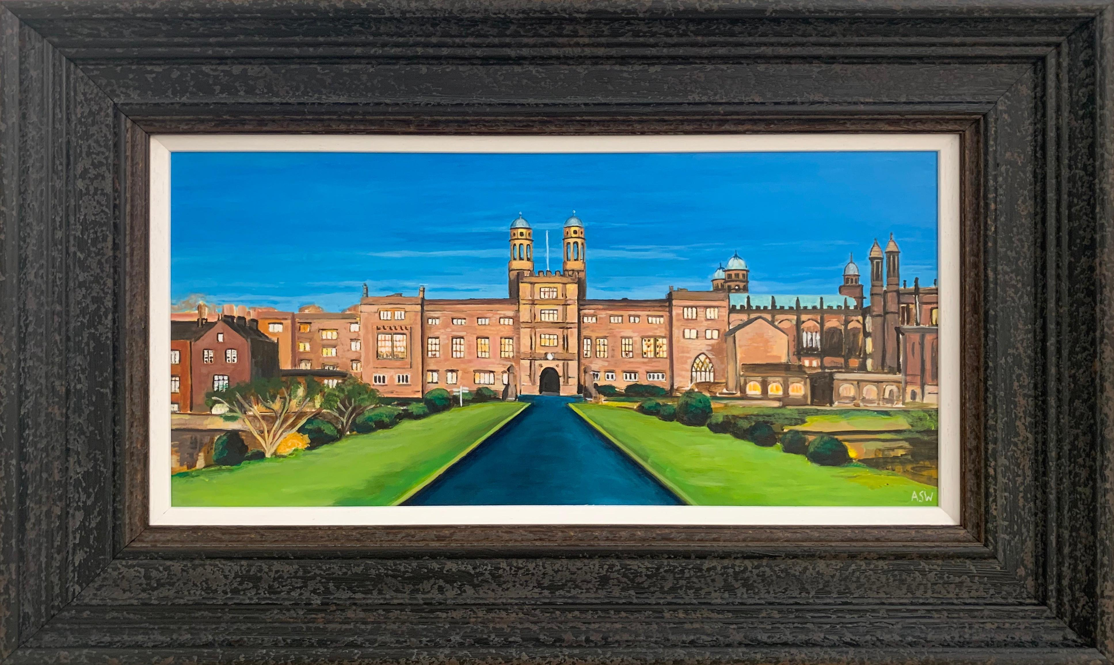 Stonyhurst College 16th Century Grade 1 Listed Building in English Countryside