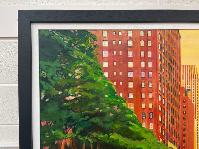 The Chrysler Building 42nd Street New York City by Contemporary British Artist For Sale 7