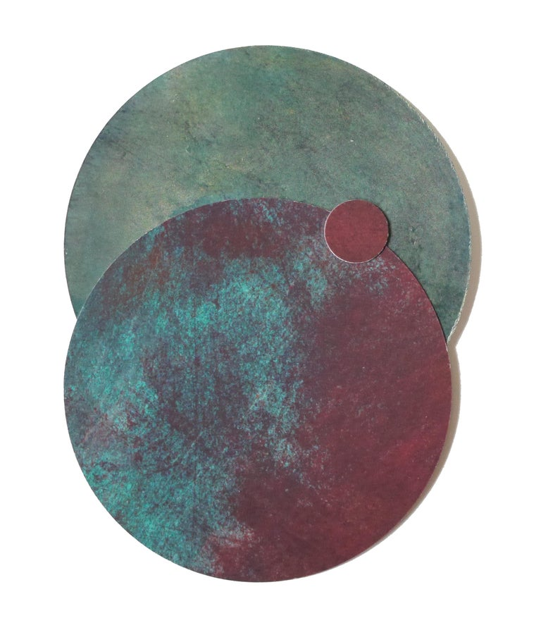 Angelica Bergamini Abstract Painting - Cosmos #6