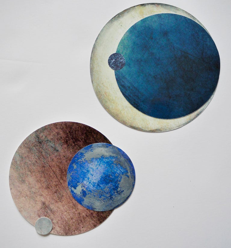 Cosmos #8 - Painting by Angelica Bergamini