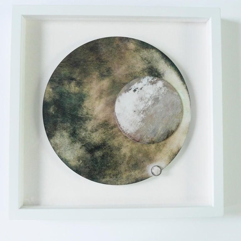 Originem #2 - Abstract Geometric Mixed Media Art by Angelica Bergamini