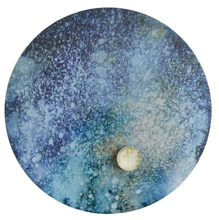 Originem #6 - Abstract Geometric Mixed Media Art by Angelica Bergamini
