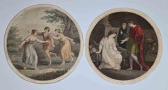 Genre Scenes Compositions - Original Artwork after Angelika Kauffmann - 1780