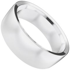 Angélique Sterling Silver Bold Ring, Wedding Band by House New York