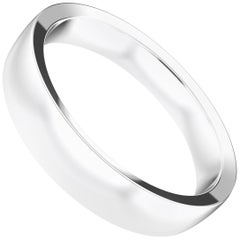 Angélique Sterling Silver Semi-Bold Ring, Wedding Band by House New York